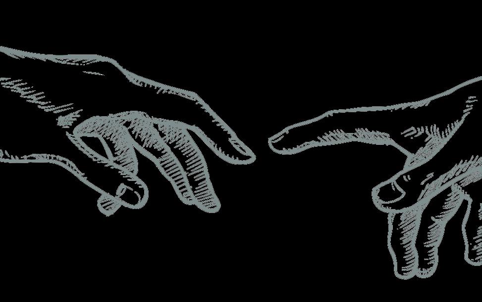 Creation-of-adam-hand-draw